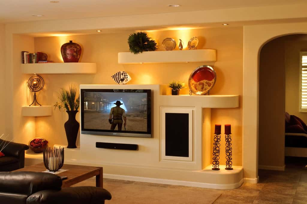 Custom Media Wall Scottsdale